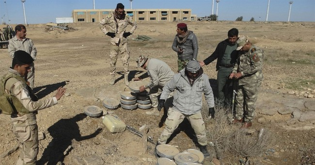 The Latest: Int'l Red Cross tries to reach out to IS