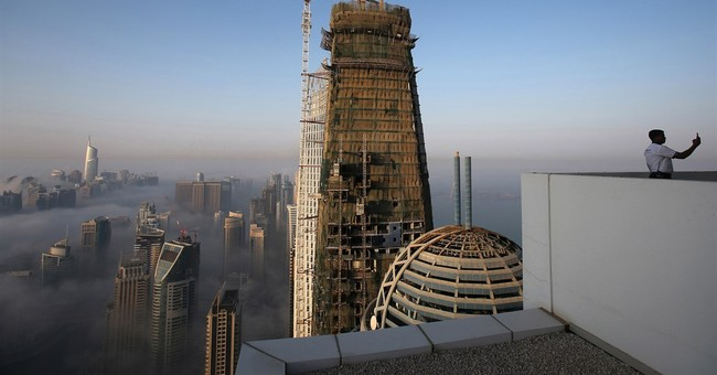 AP PHOTOS: Dubai Marina is glitzy 'Manhattan' playground