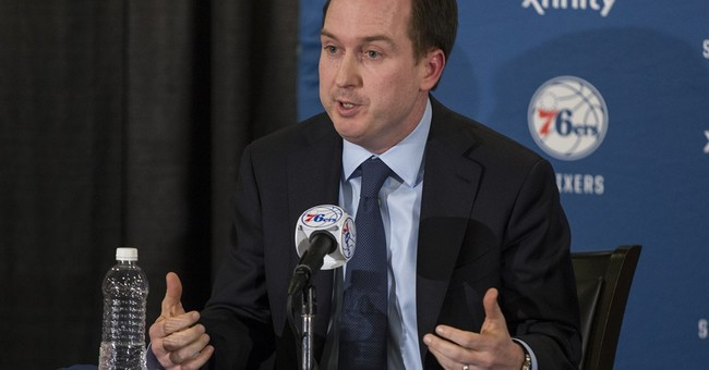 76ers hire Colangelo as chairman of basketball operations