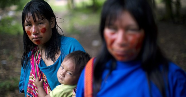 AP PHOTOS: Program fights student hunger in Peru's Amazon