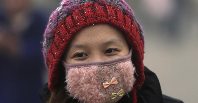 Beijingers make fashion statements with masks in the smog