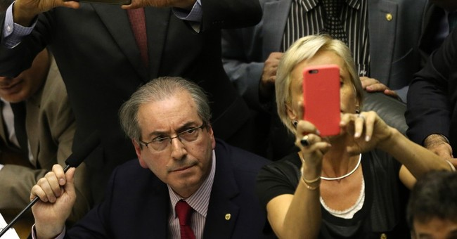 Brazilian lawmakers scuffle as impeachment commission forms