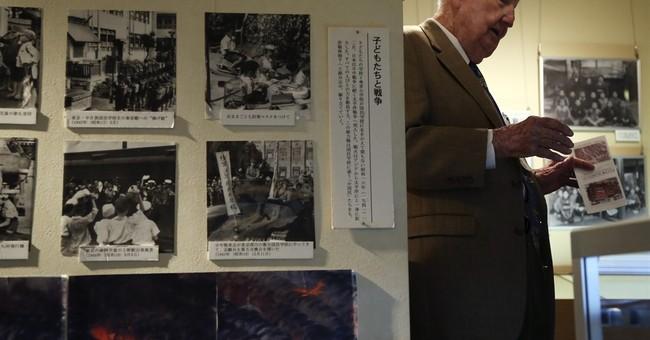 US veterans who firebombed Japan in WWII meet survivor
