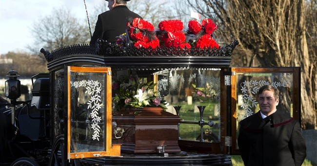 Flamboyant madam Cynthia Payne gets colorful funeral tribute