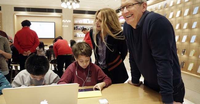 Apple CEO: More computer science and coding education needed