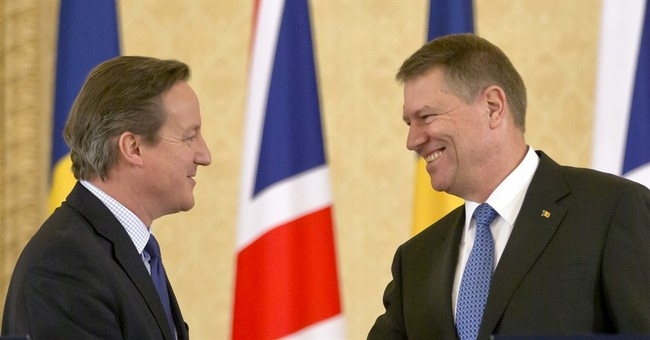 Cameron in Romania, Poland to discuss migrant benefit cuts