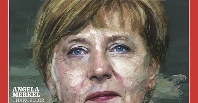 German leader Angela Merkel named Time's Person of the Year
