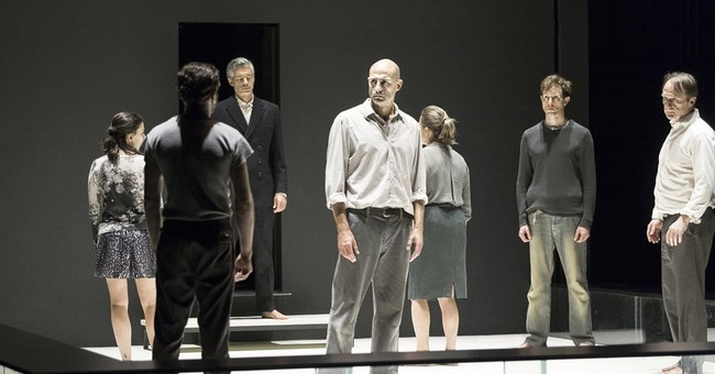 Mark Strong on life without props at 'View From the Bridge'