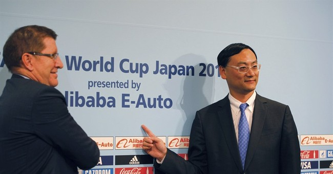 China's Alibaba E-Auto signs 8-yr deal to sponsor Club WCup