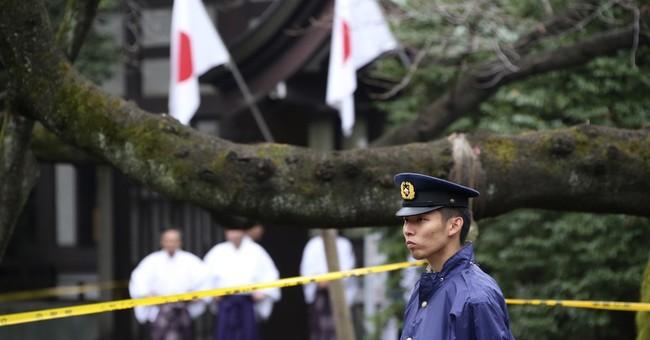 Police arrest S. Korean suspect in blast at Tokyo war shrine