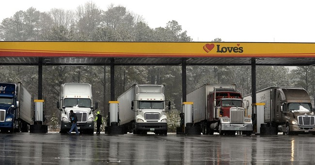 New rule: Truck drivers must electronically record hours