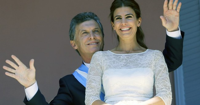 New Argentine president promises major changes and honesty