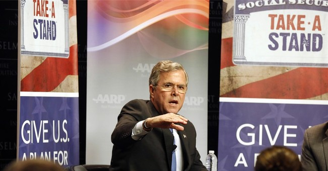 Fading in 2016 race, Jeb Bush won't budge from policy focus