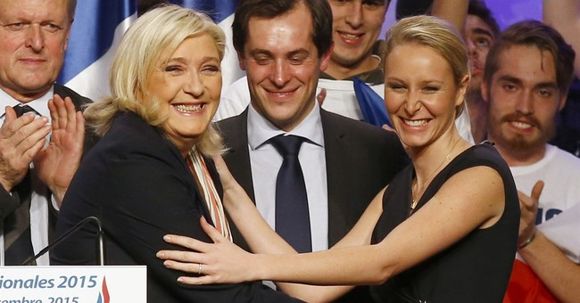 Fresh-faced star of France's far right is candidate of steel