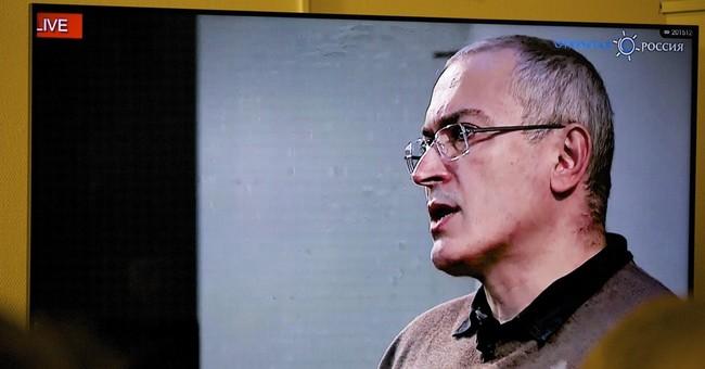 Russian officials accuse Khodorkovsky of murder