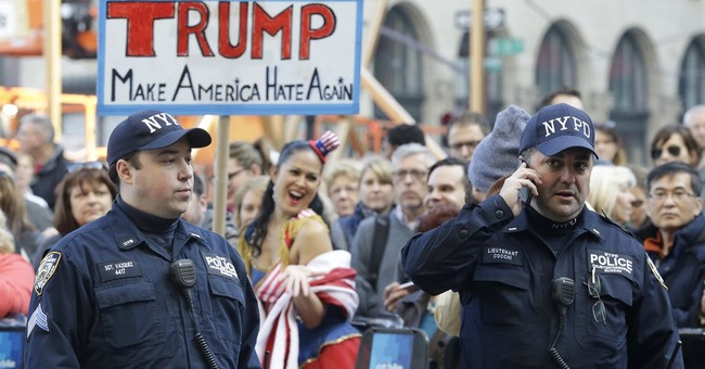 Protesters disrupt Donald Trump speech at NYC luncheon