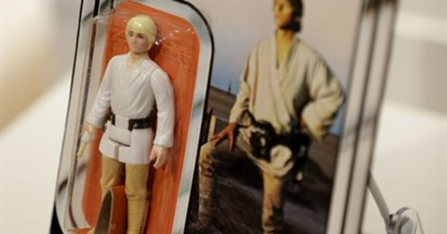 Online auction offers 'Star Wars' collectibles
