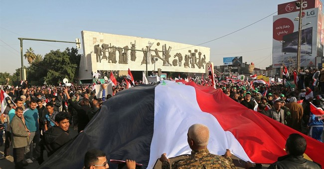 Baghdad protest against Turkey reveals Iraqi divisions