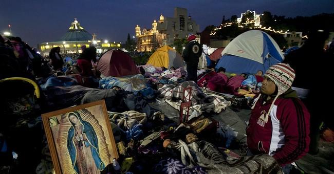 Mexico's annual Virgin pilgrimage draws huge crowds