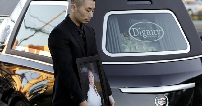 Funerals held for 3 slain in California shooting