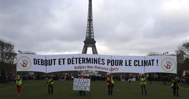 The Latest: Palestinians to join climate change convention