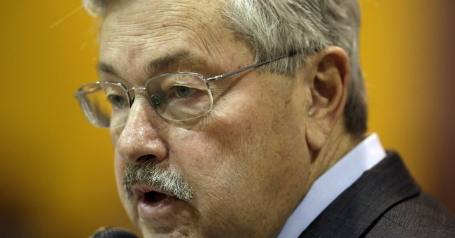 Iowa's governor is out of fashion but never out of office