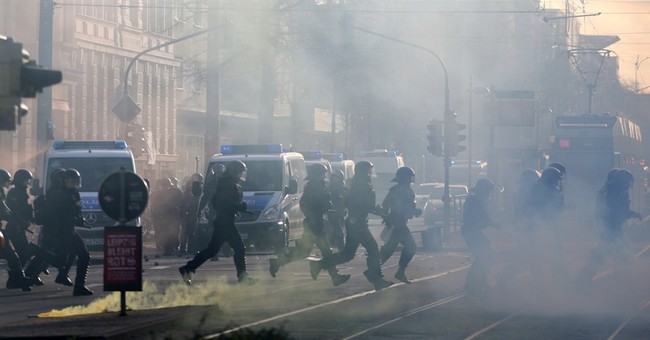69 police officers injured in clashes in eastern Germany