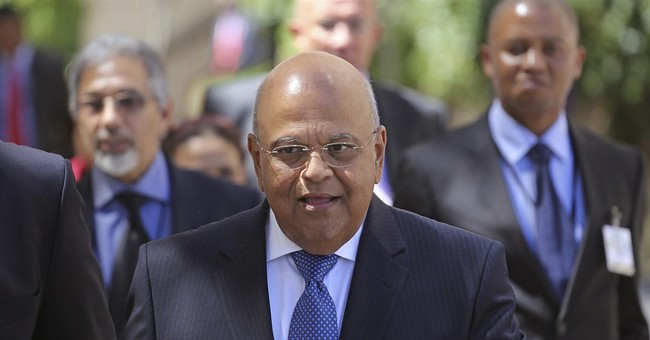 South Africa: 3 finance ministers in 1 week hits currency