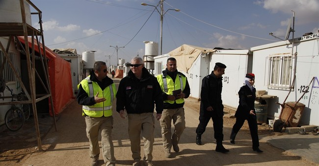 Jordan camps for Syria refugees get community police patrols