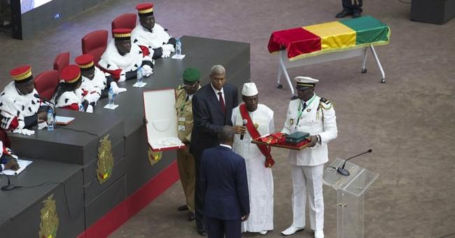 Guinea's president sworn in for 2nd term