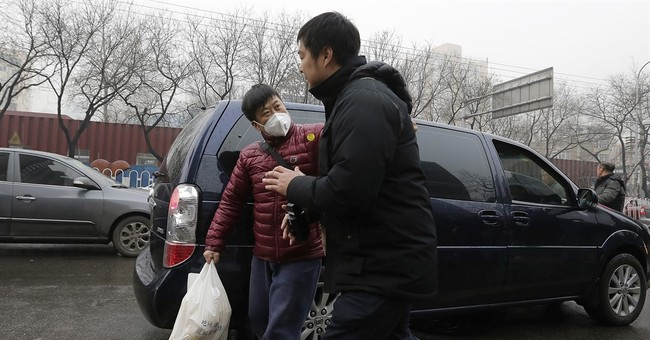 Beijing: Glimpses of a courthouse scuffle