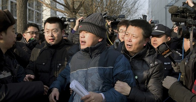 China's plainclothes officers a force against dissent