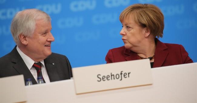 Merkel critic sends conciliatory signals in migrant crisis