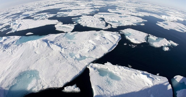 Arctic posts record warmth over land, less ice in its ocean