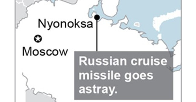 Russian cruise missile goes astray, lands near village
