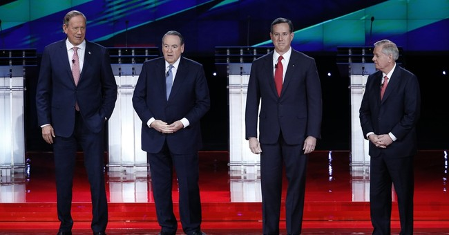 The Latest: GOP presidential candidates meet for 5th debate