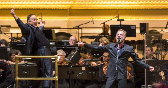 Sting regales Carnegie Hall crowd with old favorites