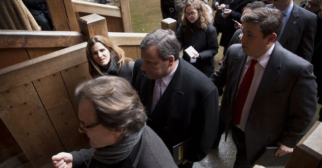 Christie's trip to UK largely avoids topic of foreign policy
