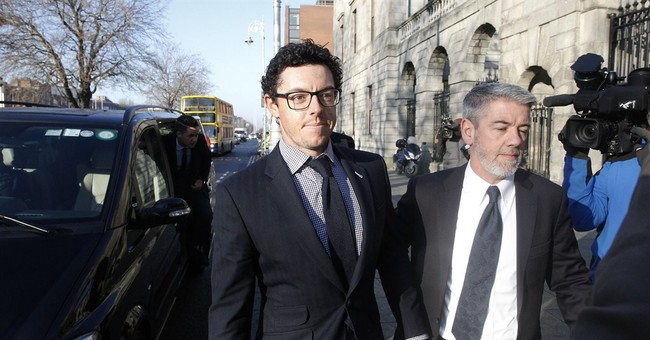 McIlroy reaches settlement in dispute with former agent
