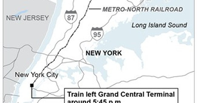 SUV inside train gates for about 30 seconds before NY crash