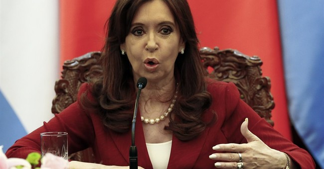 Argentine president's tweets on Chinese accent cause furor