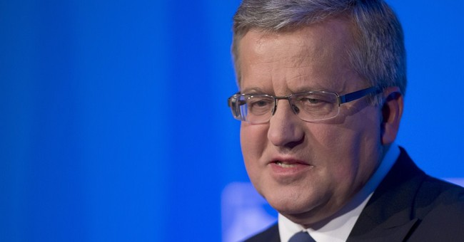 Polish president Komorowski says will run for 2nd term