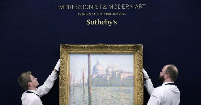 Monet means money: Auction nets record $280 million total
