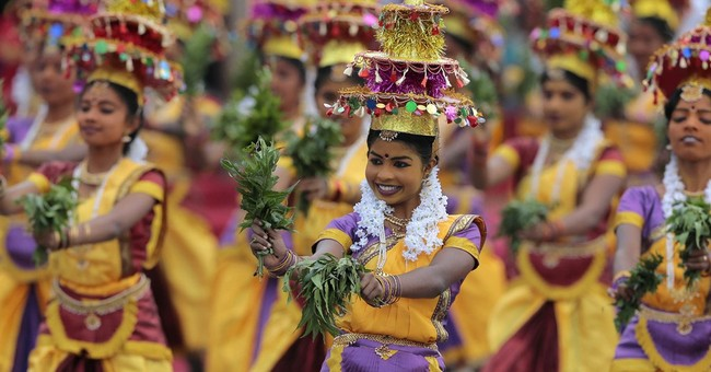 Sri Lankan leader calls for unity amid ethnic divide