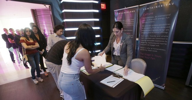 Survey: US businesses post steady job gain in January