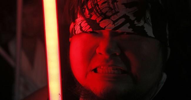 """Star Wars"" fan's dream job: Crafting realistic lightsabers"