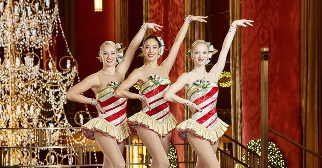 Among the ranks of glamorous Rockettes? Some non-Americans