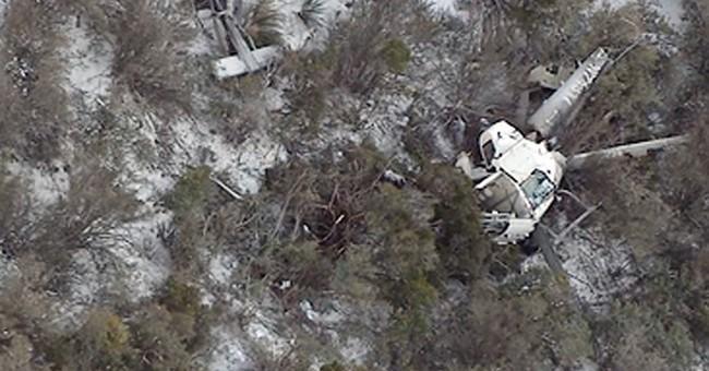 Sheriff: Hurt helicopter crash survivor tried to help victim