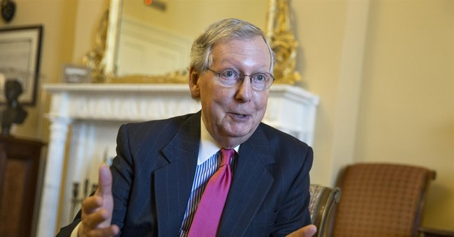 AP Interview: McConnell suggests new look at Patriot Act