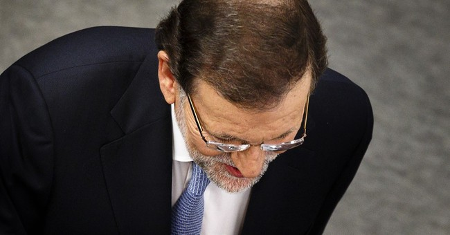 Spanish PM punched hard in head at campaign appearance